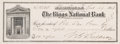 Autographs:Checks, 1911 Morgan Bulkeley Signed Check....
