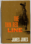 Books:Literature 1900-up, [Larry McMurtry's Copy]. James Jones. SIGNED BY LARRY MCMURTRY.The Thin Red Line. Scribner's, [1962]. First edition...