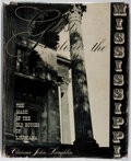 Books:Photography, [Photography]. Clarence John Laughlin. Ghosts Along the Mississippi. Scribner's, 1948. First edition. Folio. Jacket ...