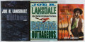 Books:Mystery & Detective Fiction, Joe R. Lansdale. Three First Editions, including: The Bottoms;Captains Outrageous. Mysterious Press, [2000, 200... (Total: 3Items)