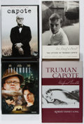 Books:Books about Books, [Truman Capote]. Lot of Two Books and Two DVD's, including: Robert Emmet Long. Truman Capote Enfant Terrible. Co... (Total: 4 Items)