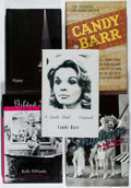 Books:Americana & American History, [Burlesque]. Lot of Five Books Relating to Burlesque, including:Candy Barr. SIGNED. A Gentle Mind... Confused. ... (Total: 5Items)