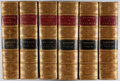 Books:Fine Bindings & Library Sets, M. Guizot. A Popular History of France. Estes and Lauriat, [n.d., ca. 1900]. Six quarto volumes. Bindings worn a... (Total: 6 Items)