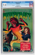 "Golden Age (1938-1955):Horror, Witchcraft #1 Davis Crippen (""D"" Copy) pedigree (Avon, 1952) CGCVF- 7.5 Off-white pages...."