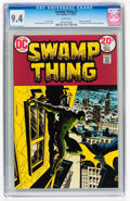 Bronze Age (1970-1979):Horror, Swamp Thing #7 (DC, 1973) CGC NM 9.4 White pages....