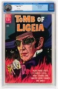 Silver Age (1956-1969):Horror, Movie Classics: Tomb of Ligeia #nn Pacific Coast pedigree (Dell,1965) CGC NM+ 9.6 White pages....