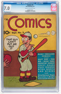 Platinum Age (1897-1937):Miscellaneous, The Comics #5 (Dell, 1937) CGC FN/VF 7.0 Cream to off-whitepages....