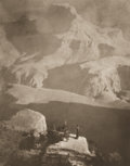 Photographs:20th Century, ANNE BRIGMAN (American, 1869-1950). Sanctuary, The GrandCanyon, 1921. Vintage photogravure. 9-1/2 x 7-5/8 inches (24.1...