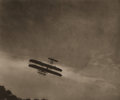 Photographs, ALFRED STIEGLITZ (American, 1864-1946). The Aeroplane, 1910. Vintage photogravure. 5-5/8 x 6-7/8 inches (14.3 x 17.4 cm)...