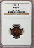 Proof Indian Cents, 1885 1C PR66 Red and Brown NGC....