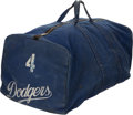 Baseball Collectibles:Others, 1958-62 Duke Snider Los Angeles Dodgers Equipment Bag....