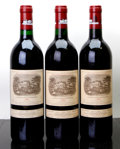 Red Bordeaux, Chateau Lafite Rothschild. Pauillac. 1989 Bottle (1). 1990 Bottle (2). ... (Total: 3 Btls. )