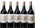 Red Bordeaux, Chateau Haut Brion. Pessac-Leognan. 1999 2bsl Bottle (2).2001 3wasl Bottle (3). ... (Total: 5 Btls. )