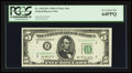 Small Size:Federal Reserve Notes, Fr. 1962-B* $5 1950A Federal Reserve Star Note. PCGS Very Choice New 64PPQ.. ...