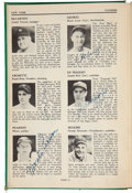 "Autographs:Others, 1938 ""Who's Who in Baseball"" Signed by Gehrig, DiMaggio, More...."