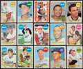 Baseball Cards:Autographs, 1969 Topps Baseball Stars Signed Cards Lot of 15....