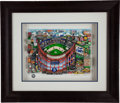 "Baseball Collectibles:Others, 2004 ""Ebbets Field of Dreams"" Three-Dimensional Serigraph byCharles Fazzino...."