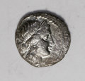 Ancient Lots: , Ancient Lots: Lot of two miscellaneous denarii. Includes: JuliusCaesar. Aneas carrying Anchises. VF, slightly off center and porous// Ne... (Total: 2 Item)