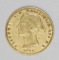 Australia: , Australia: Victoria gold 1/2 Sovereign 1862, KM3, VF, a niceoriginal coin with some luster traces in the legends....