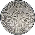 Austria: , Austria: Archduke Sigismund of Tyrol Guldiner 1486, Davenport 8087,attractive AVF, mount trace on the rim at 12 o'clock, rare andex...