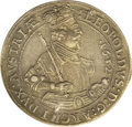 Austria: , Austria: Archduke Leopold Taler 1632 Hall, KM629.2, Davenport 3338,sharp XF-AU, reverse surfaces slightly dull from an old-timeclea...