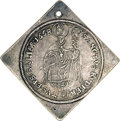 Austria: , Austria: Salzburg. Guidobald Klippe 1/4 Taler 1658, KM160, nicelytoned VF-XF, tiny hole at the top as usual but still veryattractiv...