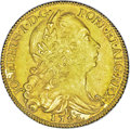 Brazil: , Brazil: Joseph I, 6400 Reis 1753-R, KM172.2. A coin from the Clive of India treasure ship with certificate. Uncirculated with ...