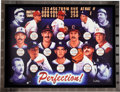 Autographs:Others, Circa 2000 Perfect Game Pitchers Signed Limited Edition Giclee....