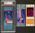 Football Collectibles:Tickets, 1983 Super Bowl XVII Full Ticket and Two Replica Super Bowl Tickets....