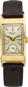 Timepieces:Wristwatch, Patek Philippe Ref. 425 Vintage Gold Wristwatch, circa 1940's. ...