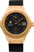Timepieces:Wristwatch, Hublot Rose Gold Regulateur Automatic. ...