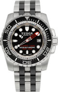 Timepieces:Wristwatch, Tudor Ref. 25000 Hydro 1200 Diver's Watch, circa 2009. ...