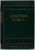 Books:Literature Pre-1900, Harriet Beecher Stowe. Uncle Tom's Cabin; or, Negro Life inAmerica. W. Nicholson & Sons, Ltd., [N.d.]. English ...