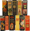 Big Little Book:Miscellaneous, Big Little Book Group (Whitman, 1930s) Condition: Average VG....(Total: 11 Comic Books)