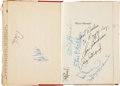 Autographs:Others, 1949 & 1952 Cleveland Indians Signed Book & Yearbook. ...