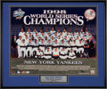 Autographs:Photos, 1998 New York Yankees Team Signed Photograph....