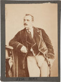 Boxing Collectibles:Memorabilia, 1870's Jem Mace Original Cabinet Photograph....