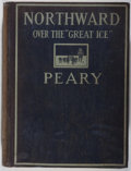 "Books:Travels & Voyages, Robert E. Peary. Northward Over the ""Great Ice"", Volume I. Frederick A. Stokes Company, 1898. First edition. Ill..."