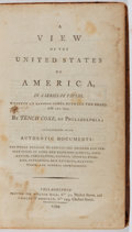 Books:Americana & American History, Tench Coxe. A View of the United States of America in a Seriesof Papers Written at Various Times, Between the Years 178...