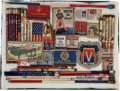 Military & Patriotic:WWII, Lot of Forty U.S. WWII Patriotic Home Front Memorabilia....