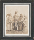 American Indian Art:Photographs, A PHOTOGRAPH OF A SIOUX FAMILY. c. 1905 ...