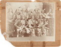 American Indian Art:Photographs, A PHOTOGRAPH OF A PONCA DELEGATION ...
