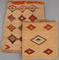American Indian Art:Baskets, TWO PLATEAU TWINED CORNHUSK BAGS... (Total: 2 Items)