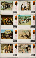 "Movie Posters:Western, The Ballad of Cable Hogue (Warner Brothers, 1970). Lobby Card Set of 8 (11"" X 14""). Western.. ... (Total: 8 Items)"