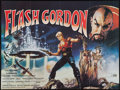 "Movie Posters:Science Fiction, Flash Gordon (Universal, 1980). British Quad (30"" X 40""). ScienceFiction.. ..."