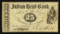Obsoletes By State:New Hampshire, Nashua, NH- White & Hill at Indian Head Bank 25¢ Oct. 1, 1862 . ...