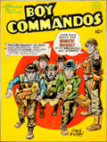 Original Comic Art:Covers, Joe Simon Boy Commandos #2 Adolf Hitler Cover Re-CreationOriginal Art (undated)....