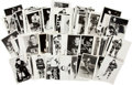 Hockey Collectibles:Photos, 1940's - 1960's Chicago Blackhawks Vintage Photographs Lot of 100+....