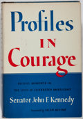 Books:Americana & American History, John F. Kennedy. Profiles in Courage. Harper & Brothers,1956. First edition. Illustrated. Publisher's cloth and...