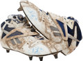 Football Collectibles:Others, 1995 Emmitt Smith Game Worn, Signed NFC Championship Game Cleats....